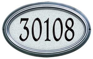 Whitehall Concord Artisan Stone Address Plaque