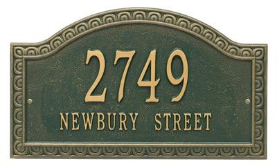 Whitehall Penhurst Arch Address Plaque