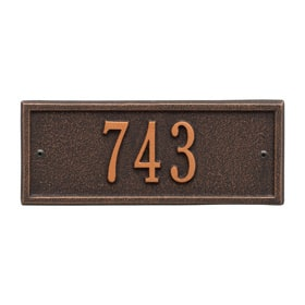Hartford Petite Plaque Oil Rubbed Bronze