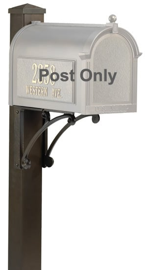 Whitehall Superior Mailbox Post
