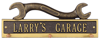 Whitehall Wrench Hook Wall Plaque