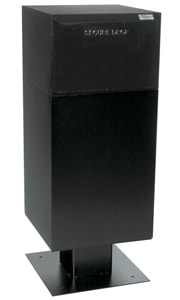 dVault DVCS0030 Deposit Vault Black