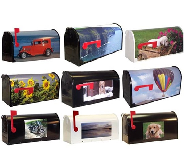 Custom Photo Mailbox Ideas