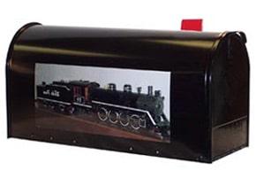 Custom Photo Mailbox Rectangle