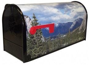 Custom Photo Mailbox Full Wrap