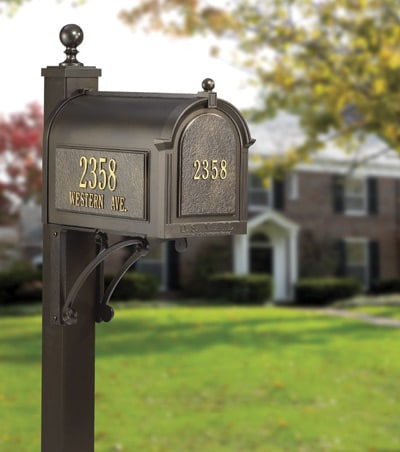Post Mount Mailbox Installation Information