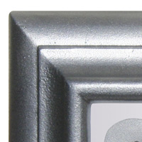 QualArc Edgewood Address Plaques Pewter