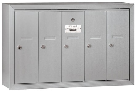 Salsbury 5 Door Surface Vertical Mailbox