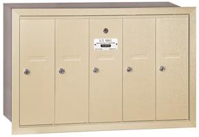 Salsbury 5 Door Vertical Mailbox Sandstone
