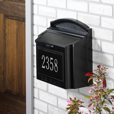 Wall Mount Mailbox Installation Information