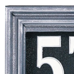 Whitehall Illuminator Address Plaque Pewter