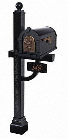 Keystone Eagle Deluxe Post Black Bronze