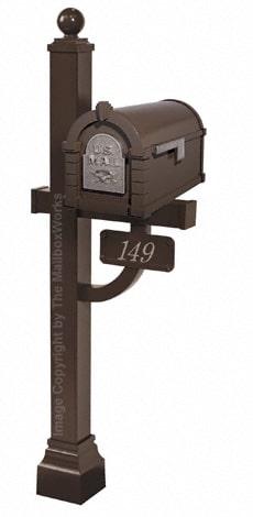 Keystone Eagle Deluxe Post Bronze Nickel