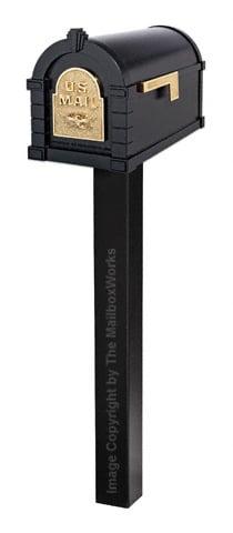 Keystone Eagle Standard Post Black Brass