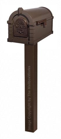 Keystone Eagle Standard Post Bronze Antique