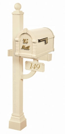 Keystone Signature Deluxe Post Almond Brass