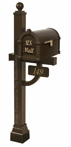 Keystone Signature Deluxe Post Bronze Brass