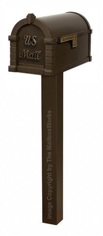 Keystone Signature Standard Post Bronze Antique