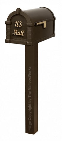 Keystone Signature Standard Post Bronze Brass