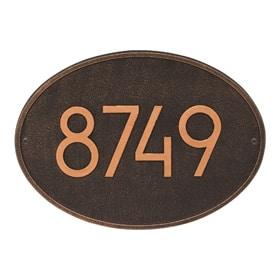 Whitehall Modern Hawthorne Oval Bronze