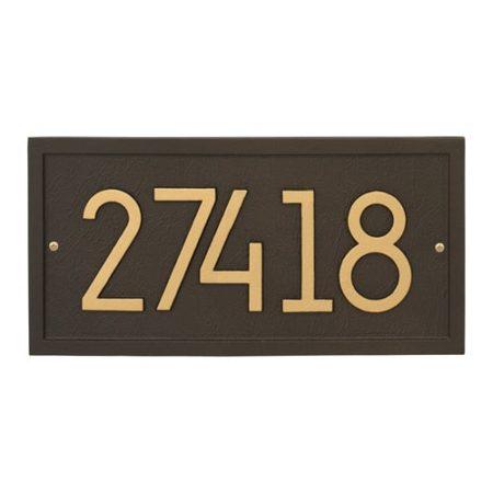 Whitehall Modern Rectangle Address Plaque