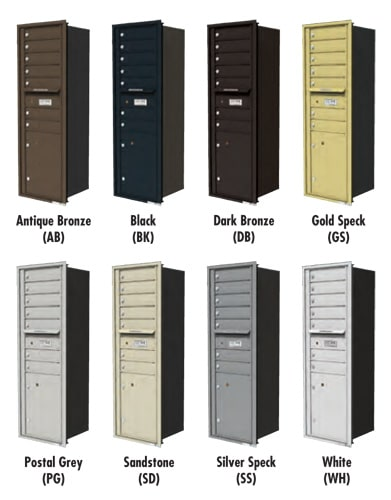 4C Mailbox Color Options