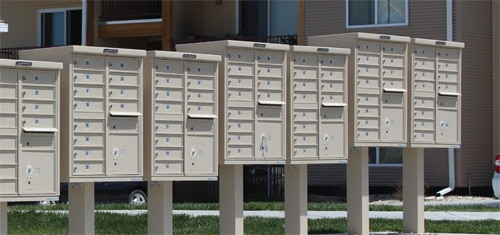 CBU Mailbox Installed
