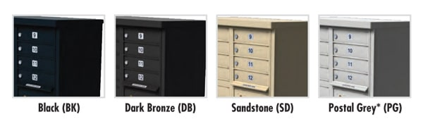 Florence CBU Mailbox Finish Options