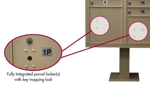 Florence CBU Mailbox Parcel Lockers