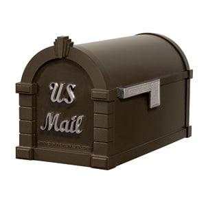 Signature Keystone Mailbox Metallic Bronze Nickel