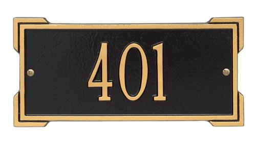 Whitehall Mini Roanoke Address Plaque