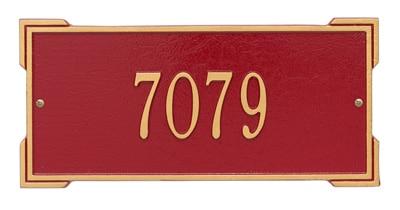 Whitehall Roanoke Plaque Standard One Line