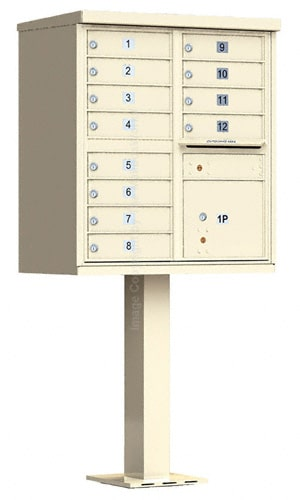 Florence 12 Door CBU Cluster Mailbox