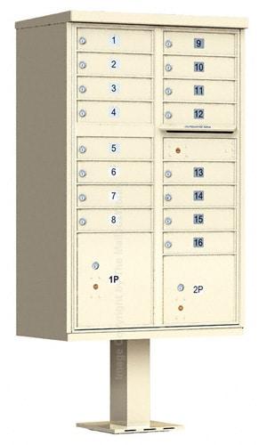 Florence 16 Door CBU Cluster Mailbox