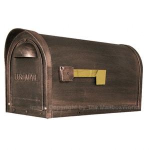 Special Lite Classic Mailbox Copper