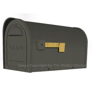 Special Lite Classic Mailbox Gun Metal
