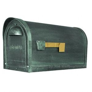 Special Lite Classic Mailbox Verde Green