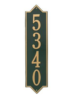 Whitehall Norfolk Vertical Plaque Estate Size