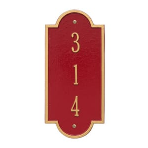 Whitehall Petite Richmond Vertical Red Gold