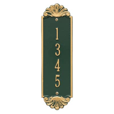 Whitehall Shell Vertical Plaque 12 Inch