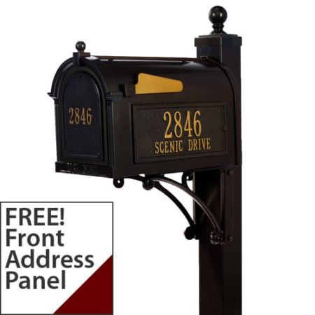 whitehall custom mailbox package - Decorative Mailboxes