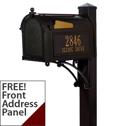 Whitehall Superior Mailbox Package