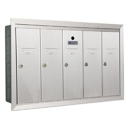 5 Door Vertical Mailboxes