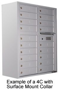 4C Surface Mounted Mailboxes
