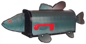 Bass Fish Novelty Mailbox