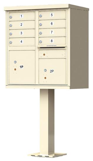 Florence 8 Door CBU Mailbox