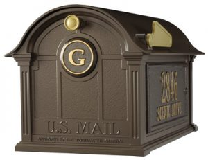 Whitehall Balmoral Post Mount Mailbox