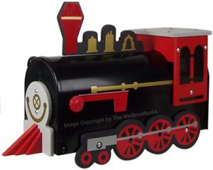 Train Novelty Mailbox