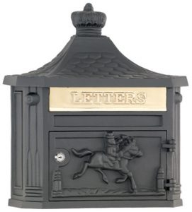 AMCO Victorian Locking Wall Mount Mailbox