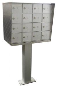 Bommer 16 Door NDCBU Commercial Mailbox